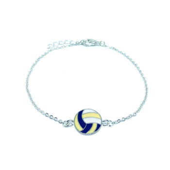 Volleyball Chain Bracelet