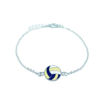 Volleyball Chain Bracelet