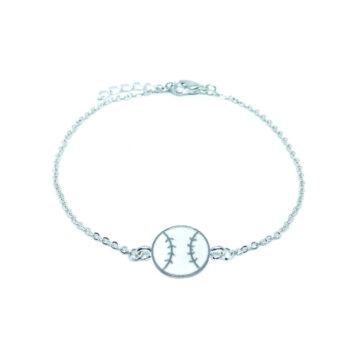 Baseball Chain Bracelet
