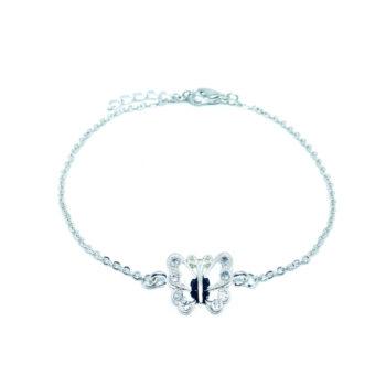 Butterfly Chain Bracelet