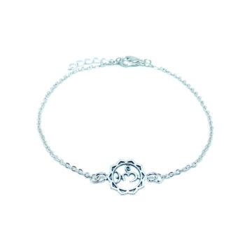 Religious OM Charm Charm Chain Bracelet