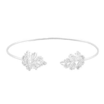 Leaf Cuff Bracelet for Women