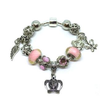 Murano Glass Bead Antique Charms European Bracelet