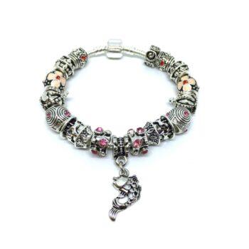 European Fish Charm Bracelet