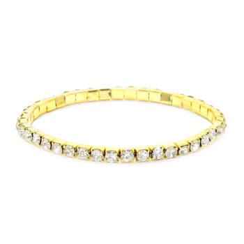 One Row Rhinestone Bracelet