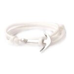 Multilayer White Rope Anchor Bracelet