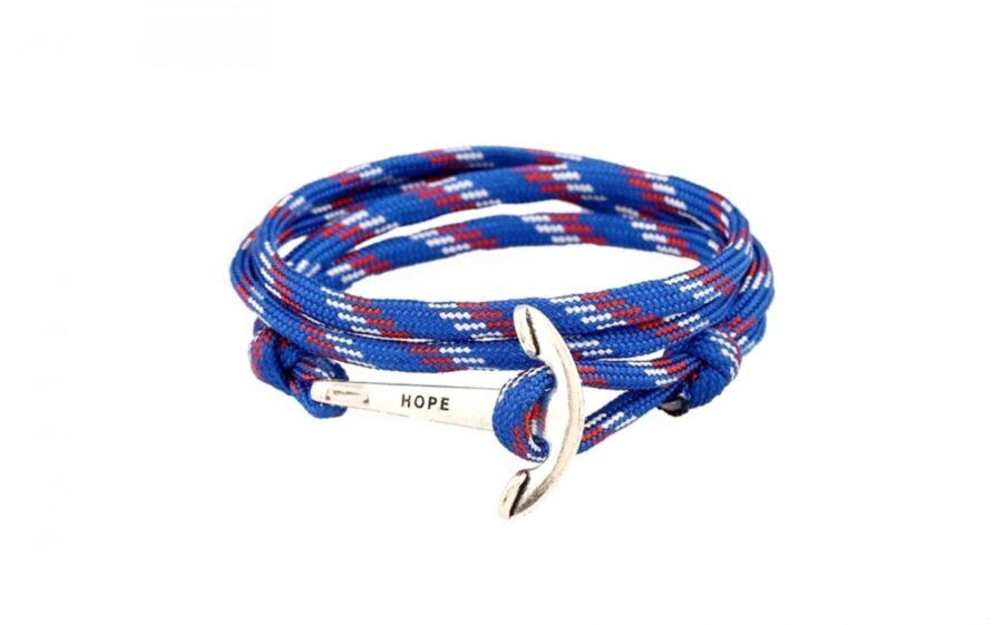 Multilayer String Hope Anchor Bracelet