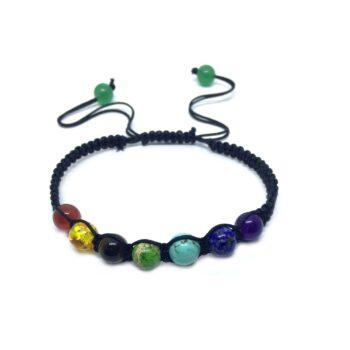 Braided Cord Chakra Bracelet