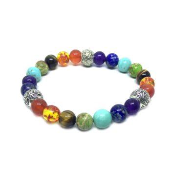 Seven Bead Chakra Bracelet