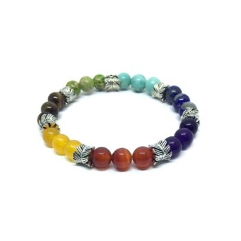 Seven Bead Yoga Chakra Bracelet