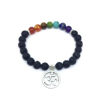 OM Lava Chakra Bracelet