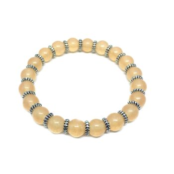 Natural Citrine Stretch Bracelet