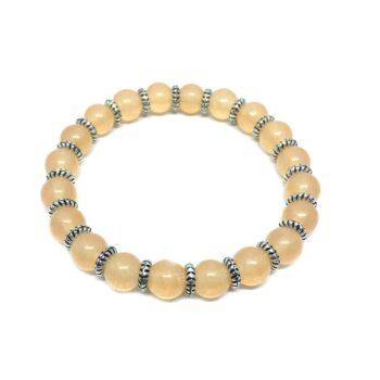 Natural Citrine Stretch Bracelet
