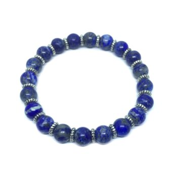 Natural Lapis Lazuli Stretch Bracelet