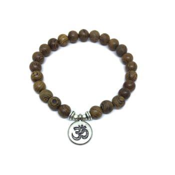 OM Wooden Bracelet