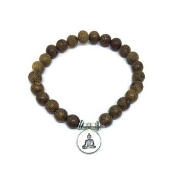 Buddha Wooden Bracelet