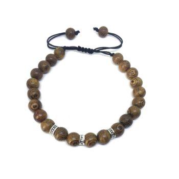 Braided Wooden Bracelet