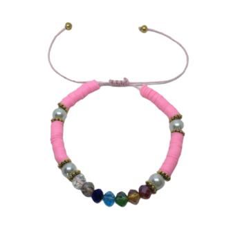 Heishi Adjustable Bracelet