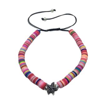 Shell Heishi Bead Bracelet