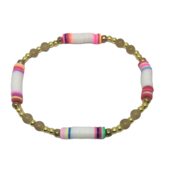 Heishi Stretch Bracelet